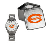 Ladies Stainless Steel Fashion Watch-C - Bobcats