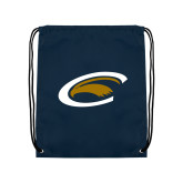 Navy Drawstring Backpack-C Eagle