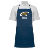 Full Length Navy Apron-Mom