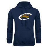 Navy Fleece Hoodie-C Eagle