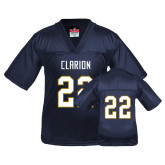 Youth Replica Navy Football Jersey-#22