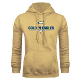 Champion Vegas Gold Fleece Hoodie-Golden Eagles Football Underline