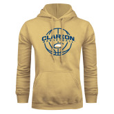 Champion Vegas Gold Fleece Hoodie-Clarion Basketball Arched