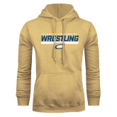 Champion Vegas Gold Fleece Hoodie-Clarion University Wrestling Stencil