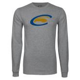 Grey Long Sleeve T Shirt-C Eagle
