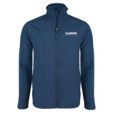 Navy Softshell Jacket-Clarion University