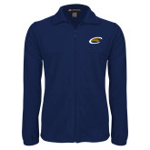 Fleece Full Zip Navy Jacket-C Eagle
