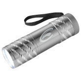 Astro Silver Flashlight-C Eagle Engraved