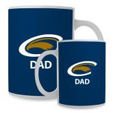 Mom Full Color White Mug 15oz-Dad