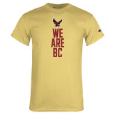 Champion Vegas Gold T Shirt-We are BC Vertical