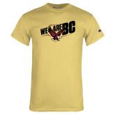 Champion Vegas Gold T Shirt-We Are BC