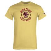Champion Vegas Gold T Shirt-Hockey Circle