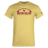 Champion Vegas Gold T Shirt-Arched Football