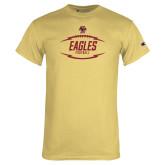 Champion Vegas Gold T Shirt-Lightning Football
