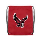 Cardinal Drawstring Backpack-Eagle