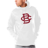Under Armour White Armour Fleece Hoodie-Vintage Interlocking BC - One Color