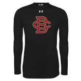 Under Armour Black Long Sleeve Tech Tee-Vintage Interlocking BC