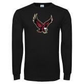 Black Long Sleeve T Shirt-Eagle