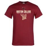 Cardinal T Shirt-Basketball Net