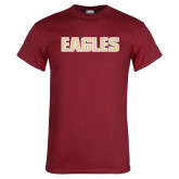 Cardinal T Shirt-Eagles Wordmark