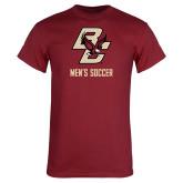 Cardinal T Shirt-Mens Soccer