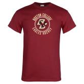 Cardinal T Shirt-Hockey Circle