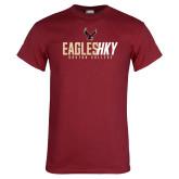 Cardinal T Shirt-Hockey Ice Texture