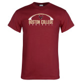 Cardinal T Shirt-Arched Football