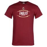 Cardinal T Shirt-Lightning Football