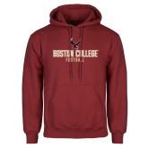 Cardinal Fleece Hoodie-Boston College Football