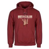 Cardinal Fleece Hoodie-Basketball Net