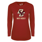 Ladies Syntrel Performance Cardinal Longsleeve Shirt-Mens Hockey