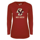 Ladies Syntrel Performance Cardinal Longsleeve Shirt-Mens Soccer