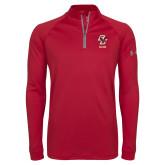 Under Armour Cardinal Tech 1/4 Zip Performance Shirt-Sailing