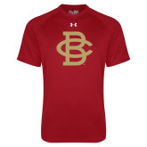 Under Armour Cardinal Tech Tee-Vintage Interlocking BC - One Color