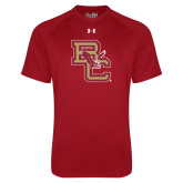 Under Armour Cardinal Tech Tee-Vintage Interlocking BC w/ Eagle