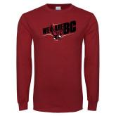 Cardinal Long Sleeve T Shirt-We Are BC
