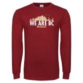 Cardinal Long Sleeve T Shirt-Skyline