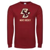 Cardinal Long Sleeve T Shirt-Mens Hockey