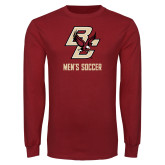 Cardinal Long Sleeve T Shirt-Mens Soccer