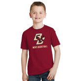 Youth Cardinal T Shirt-Mens Basketball