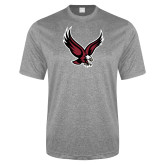 Performance Grey Heather Contender Tee-Eagle