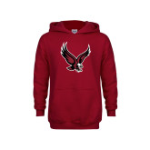Youth Cardinal Fleece Hoodie-Eagle