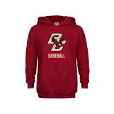 Youth Cardinal Fleece Hoodie-Baseball