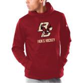 Under Armour Cardinal Armour Fleece Hoodie-Mens Hockey
