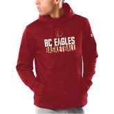 Under Armour Cardinal Armour Fleece Hoodie-Boston College Basketball