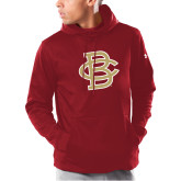 Under Armour Cardinal Armour Fleece Hoodie-Vintage Interlocking BC