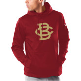 Under Armour Cardinal Armour Fleece Hoodie-Vintage Interlocking BC - One Color