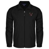 Full Zip Black Wind Jacket-Eagle
