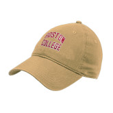 Vegas Gold Twill Unstructured Low Profile Hat-Design Name
